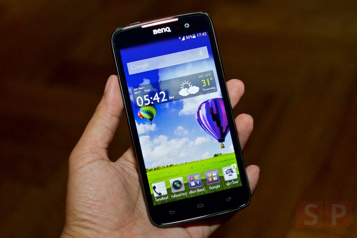 Hands-on พรีวิว BenQ F5 มือถือรองรับ 4G LTE, Ram 2GB ราคาถูกที่สุดในประเทศไทย
