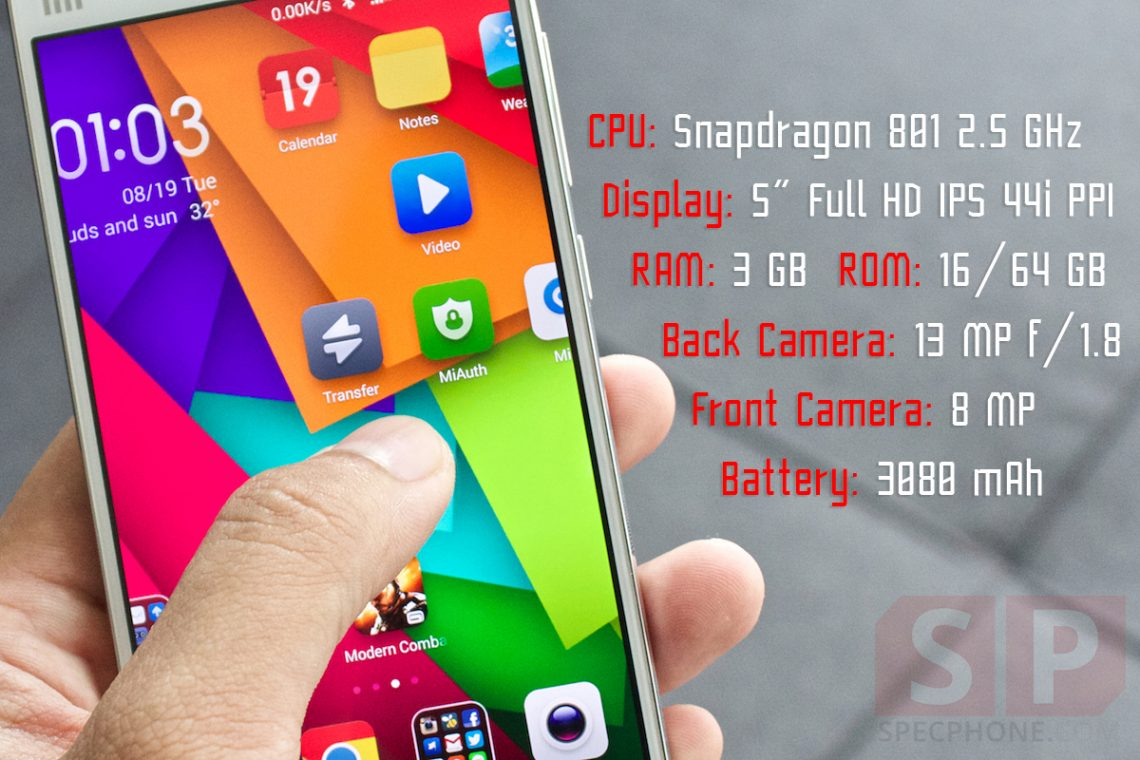 [Review] Xiaomi Mi 4 สุดยอดมือถือแบรนด์จีนที่พร้อมล้มเรือธงทุกรุ่นในตลาด