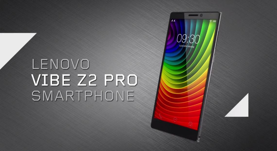 Lenovo Vibe Z2 Pro (K920) เปิดตัวแล้ว จอ 2K แบต 4000 สองซิม 4G แรม 3GB คาดราคาแค่หมื่นกลางๆ