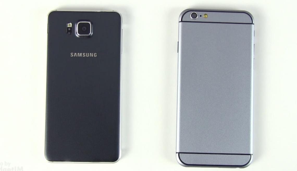 เทียบขนาด iPhone 6 vs HTC One M8, Galaxy S5 และ Galaxy Alpha [มีคลิป]