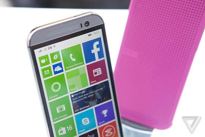 HTC ปล่อย One M8 for Windows ที่มาพร้อมกับ WP 8.1 สเปคเดิมเหมือนเวอร์ชัน Android