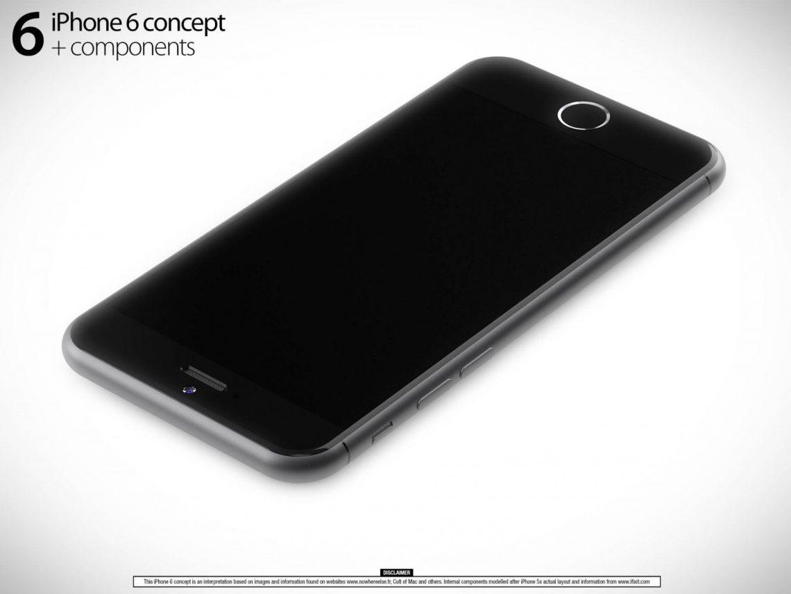 มาลองดูภาพ Render ของ iPhone 6 ที่ละเอียดที่สุดเท่าที่มีมา