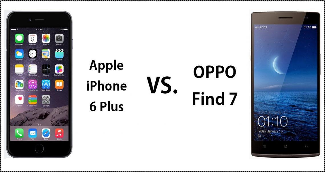 [PR] ทำการเปรียบเทียบ iPhone 6 Plus กับ Oppo Find 7
