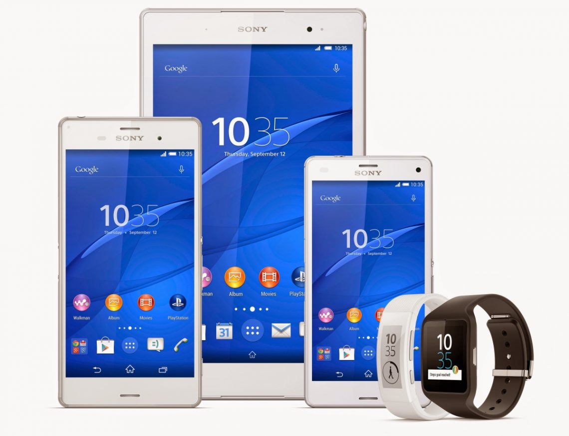 [IFA 2014] Sony เปิดตัว Sony Xperia Z3, Sony Xperia Z3 Compact และ Sony Xperia Z3 Tablet Compact