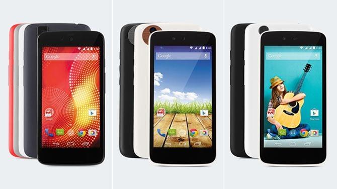 สมาร์ทโฟน Android One ชุดสองเตรียมเปิดตัวเดือนธันวาคม