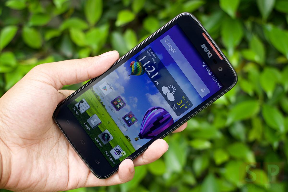 Review BenQ F5 SpecPhone 005