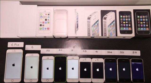 ยกมาทั้งตระกูล iPhone ตั้งแต่รุ่นแรกยันปัจจุบัน ทดสอบกันไปเลยว่ามันพัฒนาไปแค่ไหน