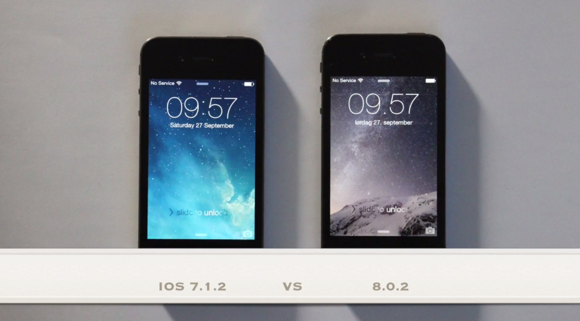 iOS 8.0.2 บน iPhone 4S จะเป็นอย่างไร ช้ากว่า iOS 7 มากมั้ย มาชมคลิปกัน