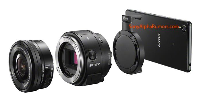 มันจะเทพไปแล้ว!! Sony เตรียมเปิดตัว ILCE-QX1 เมาท์ใส่เลนส์ Sony NEX สำหรับมือถือ Android และ iOS