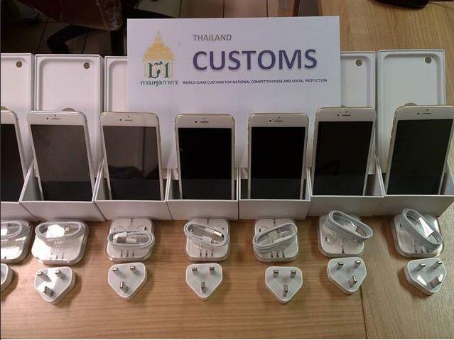 สายแข็งป่าว? iPhone 6 ที่ลักลอบหิ้วเข้าไทย โดนศุลกากรยึดรัวๆๆ กว่า 300 เครื่อง