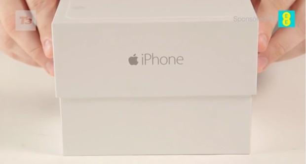 คลิป Unbox iPhone 6 คลิปแรกออกมาแว้ววววว