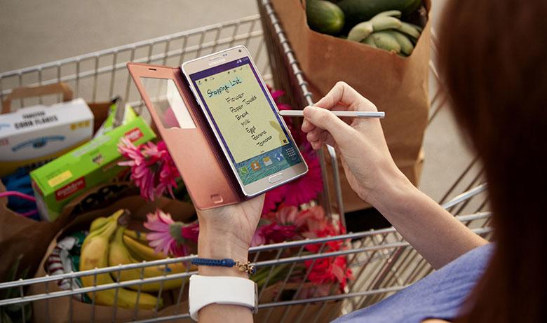Samsung Galaxy Note 4 สมาร์ทโฟนจอ QHD ที่สีสมจริงที่สุดในขณะนี้