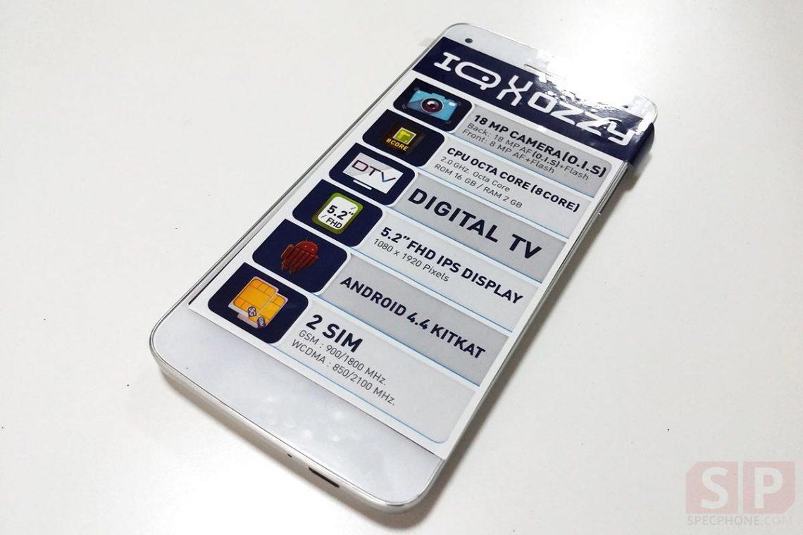 แกะกล่อง i-mobile IQ X OZZY มือถือกล้อง 18 ล้าน พร้อมระบบ O.I.S กันการสั่นไหว ในราคาไม่ถึงหมื่น