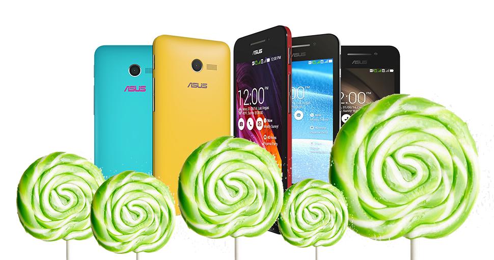 Asus Zenfone Android Lolipop