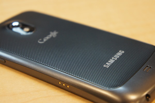 Galaxy Nexus Back Detail