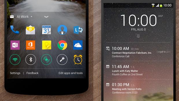 Microsoft ปล่อยแอพพลิเคชั่น Android ใหม่ 2 ตัว Next Lock Screen กับ Journey & Notes