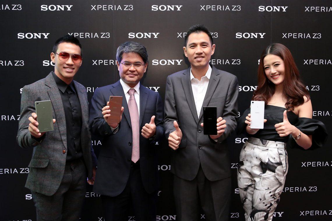 [PR] สร้างสรรค์ประสบการณ์ใหม่กับโซนี่ Xperia Z3 Series