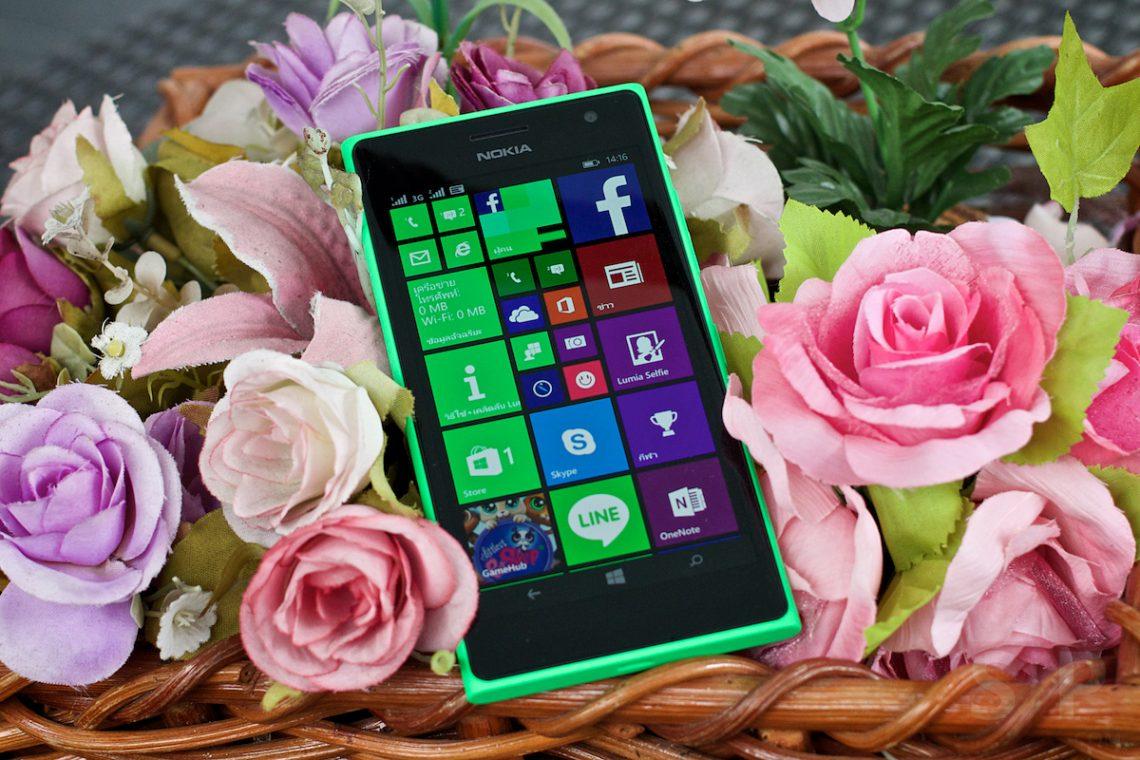 [Review] Nokia Lumia 730 วินโดวน์โฟนระดับกลางเครื่องสุดท้ายจากตระกูล Nokia Lumia