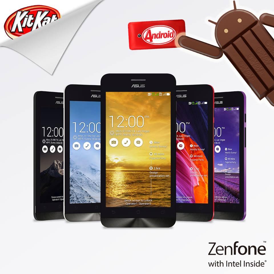 [PR] เอซุส อัพเกรดสมาร์ทโฟนยอดนิยมตระกูล ZenFone สู่ Android เวอร์ชั่น 4.4 KitKat ใหม่ล่าสุด!