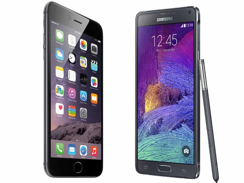 apple-iphone-6-plus-vs-samsung-galaxy-note-4
