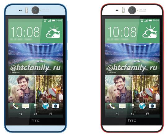 หลุดรูปเพรส HTC Desire EYE แบบชัด คอนเฟิร์มกล้องหน้า 13 ล้านพร้อมแฟลชคู่