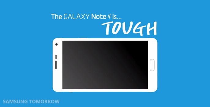 Samsung ปล่อยคลิป Drop Test ของ Note 4 โชว์ความแข็งแรงกันเห็นๆ