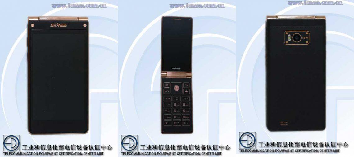 Gionee W900 สมาร์ทโฟนฝาพับ จอ FullHD คู่ เครื่องแรกของโลก