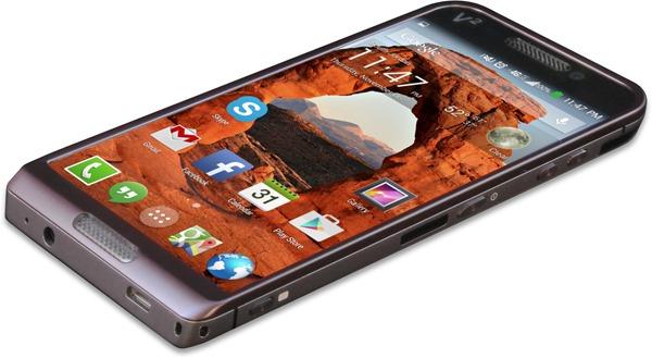 Saygus ผู้ผลิตมือถือจากสหรัฐออกมือถือดูอัลบูท Android ระดับไฮเอนด์ในชื่อ V-Squared มีความจุรวมถึง 320 GB