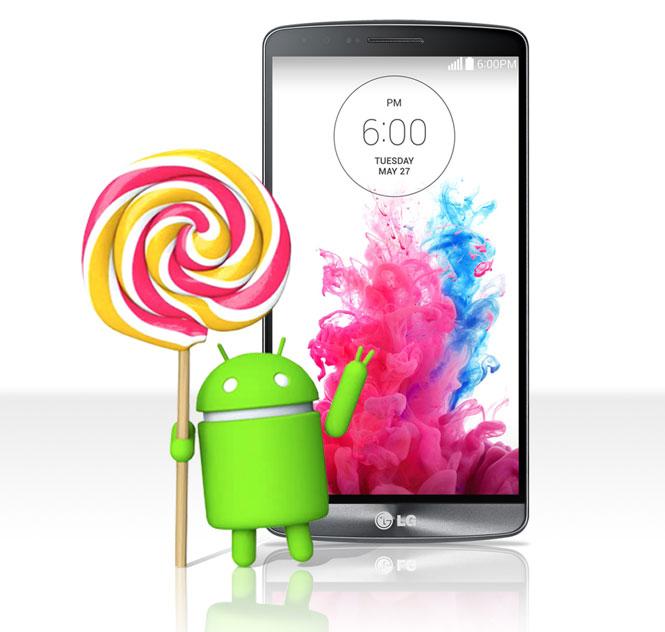 [PR] LG G3 เตรียมอัพเกรดแอนดรอยด์ 5.0 Lollipop ก่อนใคร