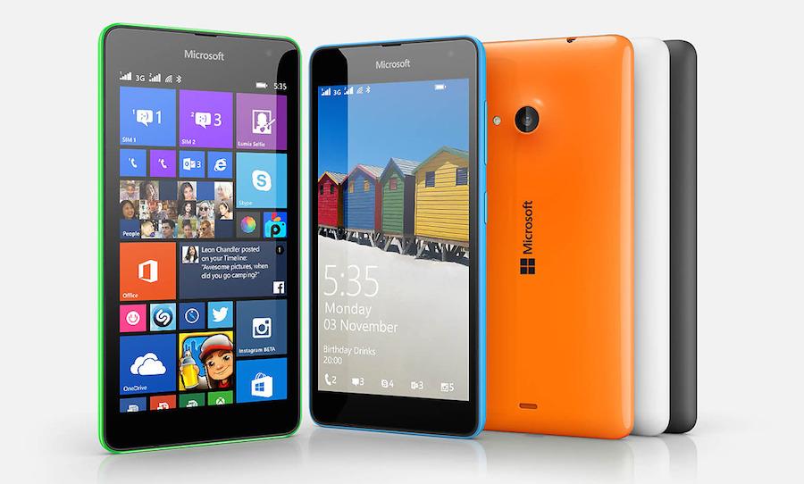 [PR] Microsoft เปิดตัว Lumia 535 จอใหญ่ 5 นิ้ว กล้องหน้า 5 ล้านพร้อมเลนส์มุมกว้าง รองรับ 2 ซิม ในราคา 4,490 บาท