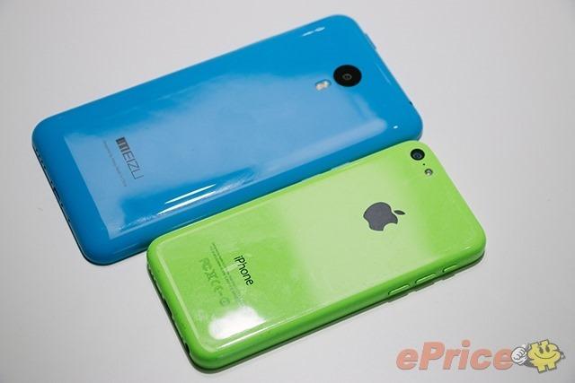 เทียบเครื่องจริง Meizu M1 Note กับ iPhone 5c อย่างกับหลุดออกมาจากโรงงานเดียวกัน