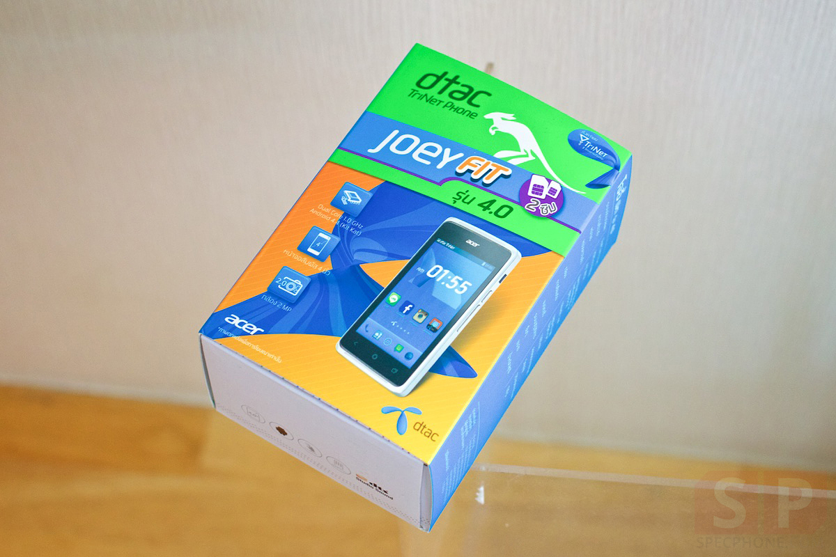 Review-DTAC-Joey-Fit-Acer-Z205-SpecPhone 001