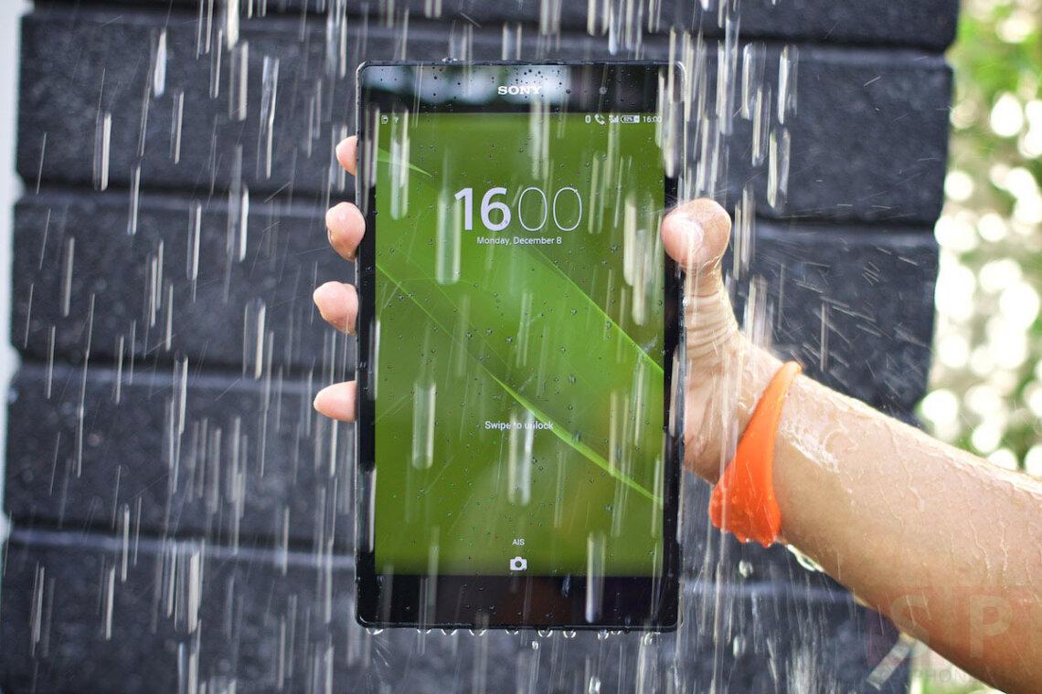 [Review] รีวิว Sony Xperia Z3 Tablet Compact แท็บเล็ต 8 นิ้ว กันน้ำได้ สเปค อย่างแรง น้ำหนักอย่างเบา!!!