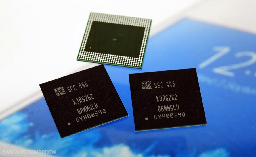 Samsung-Electronics-Starts-Mass-Production-of-Industry?s-First-8-Gigabit-LPDDR4-Mobile-DRAM