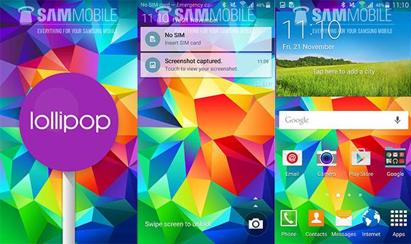 ไทยรอนิด!! ผู้ใช้ Samsung Galaxy S5 ในยุโรปเริ่มได้อัพเดต Android 5.0 Lollipop แล้ว