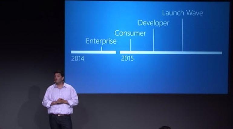 Windows Phone 10 จะไม่ออกรุ่นสมบูรณ์จนกว่าปลายปี 2015