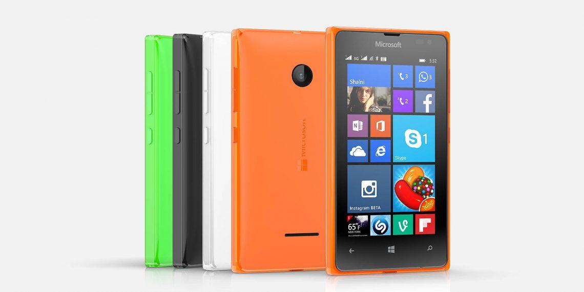 Microsoft จัดหนัก ส่ง WP รุ่นใหม่ 2 รุ่นรวด Lumia 532 และ 435