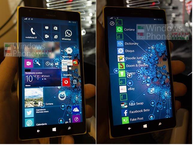 หลุดสกรีนช็อต Windows Phone 10 อนุญาติให้ผู้ใช้เปลี่ยนพื้นหลังได้จริงๆ แล้ว