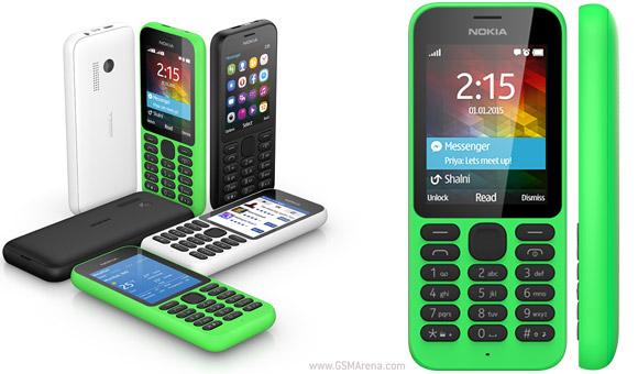 [CES 2015] Microsoft เปิดตัว Nokia 215 และ 215 Dual SIM ฟีเจอร์โฟนยังไม่หายไปไหน