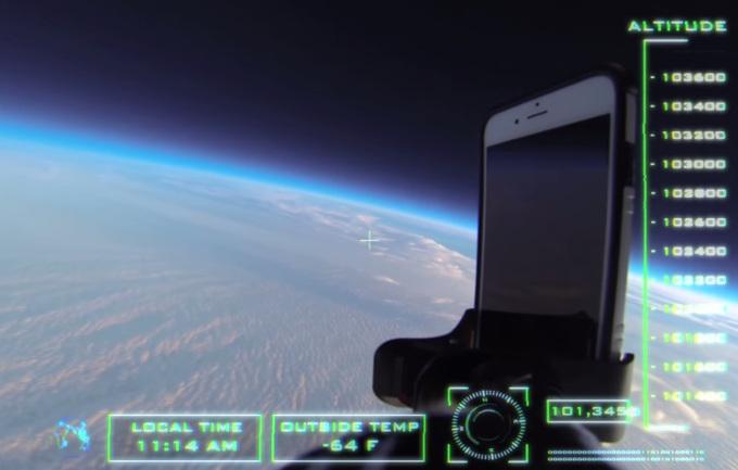 ดร็อปเทสปกติมันธรรมดาไป พบการทดสอบเคสไอโฟนบนความสูงถึง 101,345 ฟุตจากชั้นบรรยากาศกัน