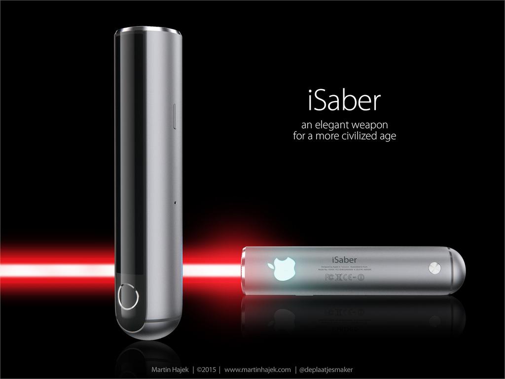 Apple Lightsaber: ถ้า Apple สร้างดาบเลเซอร์ มันจะเป็นยังไง มาดูกัน