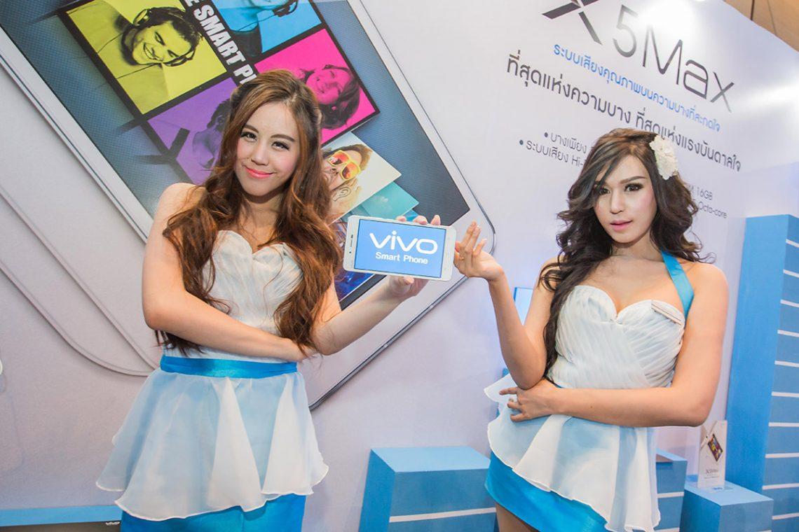 [PR] วีโว่ เปิดตัว x5max สมาร์ทโฟนรุ่นใหม่ล่าสุดในงานไทยแลนด์ โมบาย เอ็กซ์โป 2015