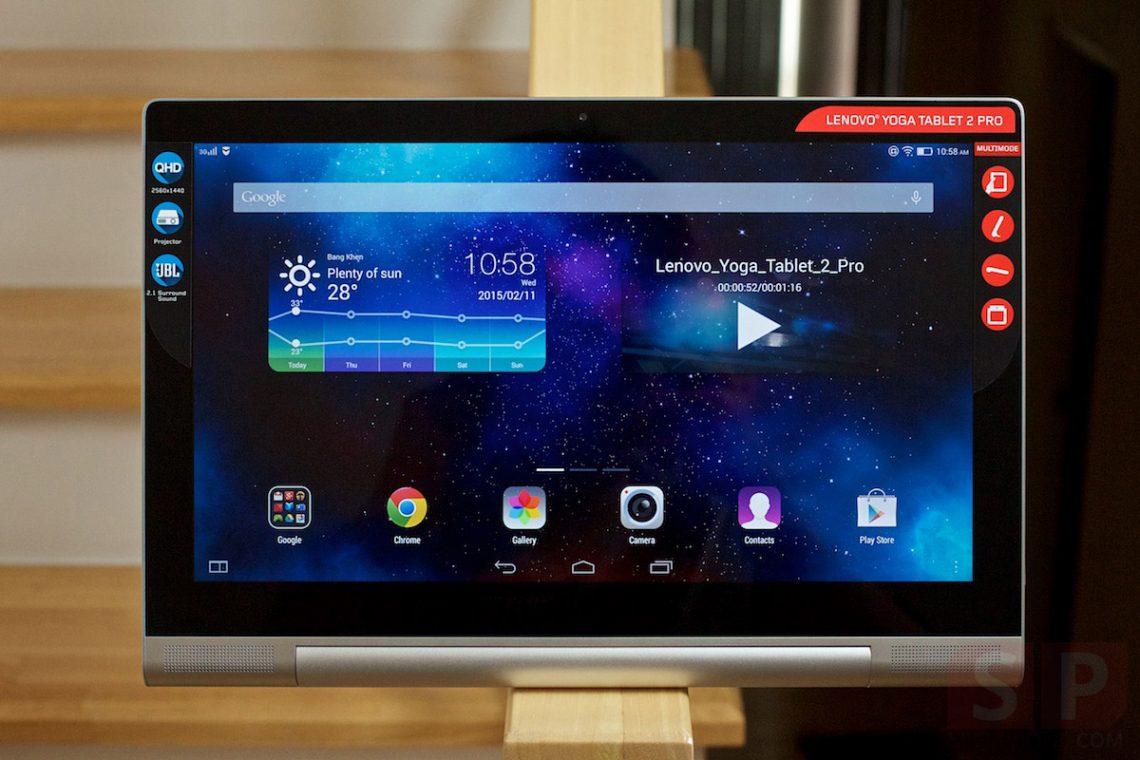 Preview lenovo Yoga Tablet 2 Pro ที่สุดของแท็บเล็ต พร้อมกับโปรเจคเตอร์ในตัว