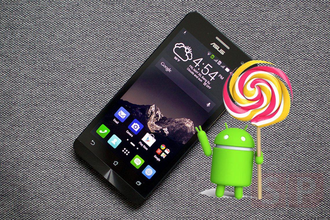 อัพสิครับจะรออะไร!! Android 5.0 Lollipop ของ Asus Zenfone 4, Zenfone 5 และ Zenfone 6 มาแล้วจ้า