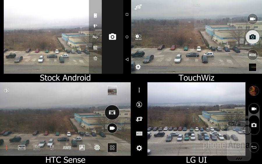 Stock Lollipop vs TouchWiz vs Sense vs LG UI 15