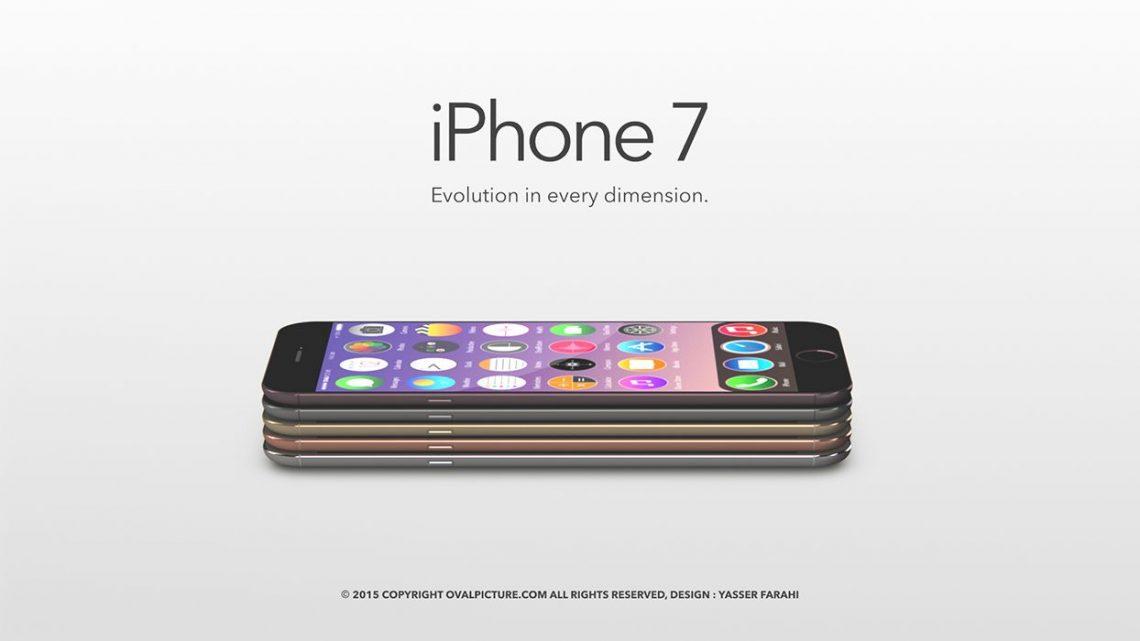 เผยภาพ Concept iPhone 7 มีตัวเครื่องหลายสี สเปคแบบนี้แหละที่ต้องการ!!