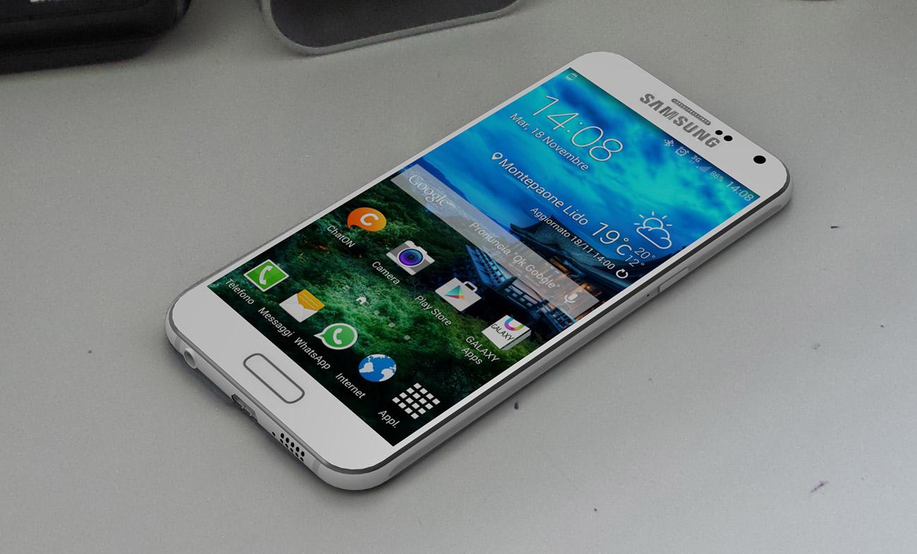 ภาพเรนเดอร์เครื่องตัวเต็ม Samsung Galaxy S6 จากโครงอลูล่าสุด ที่หลุดจากห้องน้ำมาแล้วจ้า