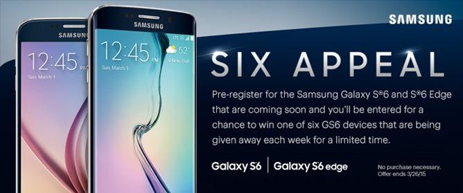 Sprint หลุดภาพโปรโมท Samsung Galaxy S6 และ S6 Edge ก่อนวันเปิดตัว