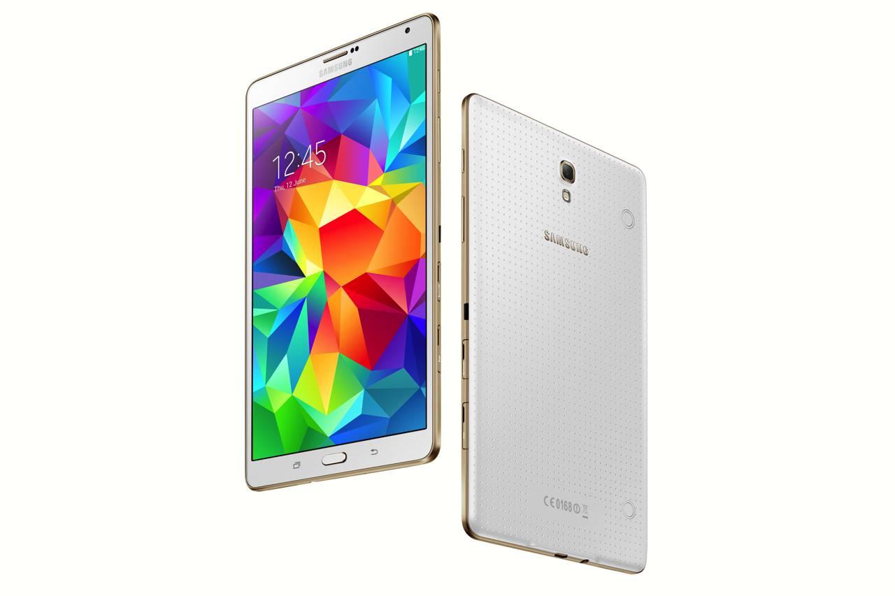 Galaxy Tab S 8.4 inch Dazzling White 10