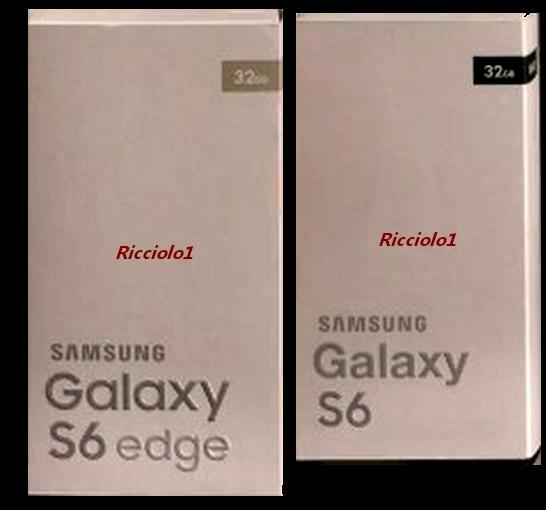 หลุดภาพกล่องของ Samsung Galaxy S6 และ S6 Edge
